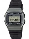 นาฬิกา คาสิโอ Casio STANDARD DIGITAL F-91WM Metal Look series รุ่น F-91WM-1B (สี Dark Silver) ของแท้ รับประกัน 1 ปี