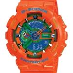 นาฬิกา คาสิโอ Casio G-Shock Limited Hyper Color รุ่น GA-110A-4 ( ส้ม ไฮเปอร์) หายาก
