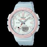 นาฬิกา Casio Baby-G for Running รุ่น BGS-100SC-2A (สีฟ้า-ชมพู) ของแท้ รับประกัน1ปี