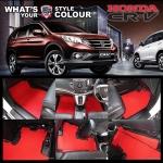 พรมดักฝุ่นไวนิล ชุด All Full จำนวน 7 ชิ้น Honda CRV Gen 4 ปี 2013-2018