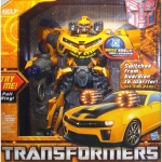 Transformers ROTF Revenge Of The Fallen Bumblebee Battle Ops Leader Class NEW