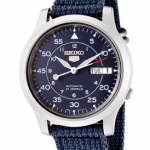 นาฬิกาข้อมือ SEIKO 5 Military Automatic Nylon men's watch รุ่น SNK807K2