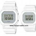 นาฬิกา คาสิโอ Casio G-SHOCK x BABY-G เซ็ตคู่รัก Calm & Clean color series รุ่น DW-5600CU-7 x BGD-560CU-7 Pair set ของแท้ รับประกัน1ปี