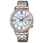 นาฬิกา คาสิโอ Casio SHEEN BLUE&PINK GOLD COLOR SERIES รุ่น SHE-3046SGP-7B ของแท้ รับประกัน1ปี สำเนา