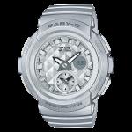นาฬิกา Casio Baby-G BGA-195 Studs Dial series รุ่น BGA-195-8A ของแท้ รับประกัน1ปี