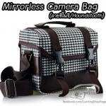 กระเป๋ากล้องแฟชั่น กล้อง Mirrorless กล้องคอมแพค ลายชิโนริ Houndstooth