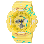 นาฬิกา Casio Baby-G Scratch Graffiti Design series รุ่น BA-120SC-9A ของแท้ รับประกัน1ปี