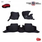 พรมเข้ารูป 6 D Leather Car Mat จำนวน 3 ชิ้น MAZDA CX-3
