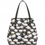 กระเป๋าถือแฮร์รอดส์ดอกโบตั๋นของแท้ Peony Floral Tote