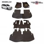 พรมรถยนต์เข้ารูป 6 D Leather Car Mat HONDA MOBILIO จำนวน 5 ชิ้น