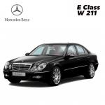 พรมดักฝุ่นไวนิล ชุด Full จำนวน 5 ชิ้น Benz E Class W 211
