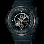 """นาฬิกา คาสิโอ Casio G-Shock Standard Analog-Digital รุ่น G-301B-1A """"G-Spike BLACK OUT"""" หายาก"""