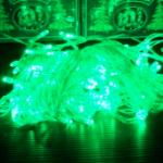 ไฟประดับ 100 หัวสีเขียว เกรด A