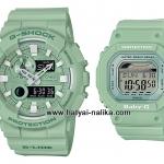 นาฬิกา Casio G-SHOCK x BABY-G เซ็ตคู่รัก Crayon Pastel series รุ่น GAX-100CSB-3A x BLX-560-3 Pair set ของแท้ รับประกัน 1 ปี