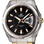 นาฬิกา คาสิโอ Casio EDIFICE 3-HAND ANALOG รุ่น EF-129SG-1A