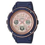 นาฬิกา Casio Baby-G Analog-Digital รุ่น BGA-150PG-2B1 ของแท้ รับประกัน1ปี