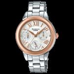 นาฬิกา คาสิโอ Casio SHEEN MULTI-HAND SHE-3059 series รุ่น SHE-3059SG-7A ของแท้ รับประกัน1ปี
