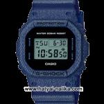 นาฬิกา Casio G-Shock Limited DW-5600DE Denim fabric Elements series รุ่น DW-5600DE-2 ของแท้ รับประกัน1ปี