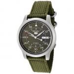 นาฬิกาข้อมือ SEIKO 5 Military Automatic Nylon men's watch รุ่น SNK805K2
