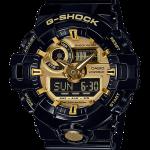 นาฬิกา คาสิโอ Casio G-Shock Standard ANALOG-DIGITAL รุ่น GA-710GB-1A (สีดำทอง) ของแท้ รับประกัน 1 ปี