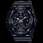 นาฬิกา Casio Baby-G Standard ANALOG-DIGITAL รุ่น BA-125-1A (สีดำล้วน) ของแท้ รับประกัน1ปี