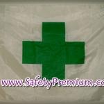 ธง Safety First ปลอดภัยไว้ก่อน_แบบกากบาท