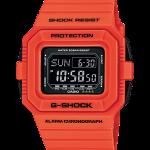 นาฬิกา คาสิโอ Casio G-Shock Limited Rescue Orange Series รุ่น DW-D5500MR-4 สีส้มนักดับเพลิง