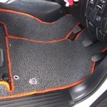 พรมดักฝุ่นไวนิล ชุด Full จำนวน 10 ชิ้น Toyota Revo 4 Door 2015-2019 เกียร์ Manual