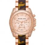 นาฬิกา Michael Kors ไมเคิล คอร์ รุ่น MK5859 Blair Rose Dial Rose Gold-tone Ladies Watch