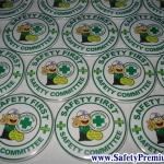 ตัวอย่างเข็มกลัด Safety Committee 58mm