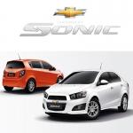 พรมดักฝุ่นไวนิล ชุด Full จำนวน 15 ชิ้น Chevrolet Sonic 4-5 Door 2012-2017