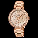 นาฬิกา คาสิโอ Casio SHEEN MULTI-HAND รุ่น SHE-3043PG-9A ของแท้ รับประกัน1ปี