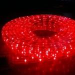 ไฟท่อ LED 3 สาย แบน สีแดง เกรด A