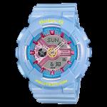 นาฬิกา Casio Baby-G Girls' Generation Sweet Candy Pastel series รุ่น BA-110CA-2A (ฟ้าพาสเทล) ของแท้ รับประกัน1ปี
