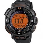 นาฬิกา คาสิโอ Casio PRO TREK DUAL-LAYER LCD (Rare item) รุ่น PRG-240-8ER (EUROPE) หายากมาก