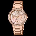 นาฬิกา คาสิโอ Casio SHEEN MULTI-HAND รุ่น SHE-3052PG-9A ของแท้ รับประกัน1ปี