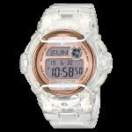 นาฬิกา Casio Baby-G STANDARD DIGITAL รุ่น BG-169G-7B (Jelly ขาวใสพิ้งค์โกลด์) ของแท้ รับประกัน 1 ปี