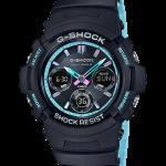 นาฬิกา Casio G-Shock Special Pearl Blue Neon Accent Color series รุ่น AWG-M100SPC-1A (ไม่วางขายในไทย) ของแท้ รับประกัน1ปี