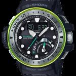 นาฬิกา คาสิโอ Casio G-Shock GULFMASTER 4-sensors Limitd Master of G ชุด Master in Marine Blue series รุ่น GWN-Q1000MB-1A ของแท้ รับประกัน 1 ปี