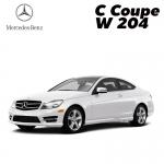 พรมกระดุมแผ่นท้ายสัมภาระ Benz C Coupe 2 Door W 204