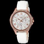 นาฬิกา คาสิโอ Casio SHEEN MULTI-HAND SHE-3062 series รุ่น SHE-3062PGL-7A ของแท้ รับประกัน1ปี