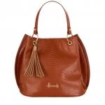 กระเป๋าแฮร์รอดส์ของแท้ Ash Embossed Bucket Bag