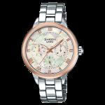 นาฬิกา คาสิโอ Casio SHEEN MULTI-HAND รุ่น SHE-3055SG-7A ของแท้ รับประกัน1ปี