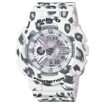 นาฬิกา คาสิโอ Casio Baby-G Girls' Generation Leopard series รุ่น BA-110LP-7A