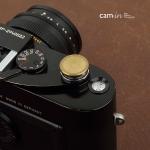 Soft Shutter Release รุ่น 16 mm ปุ่มใหญ่ เว้าลง สีทอง กดง่ายสะดวก สำหรับ Fuji XT2 XE2 X20 X100 XE1 XT20 XT10 Leica ฯลฯ