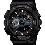 นาฬิกา คาสิโอ Casio G-Shock Standard Analog-Digital รุ่น GA-110-1B (BLACK HAWK)