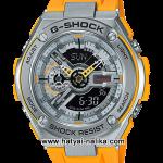 นาฬิกา Casio G-Shock G-STEEL Special Color GST-410 series รุ่น GST-410-9A สีเหลือง (สีพิเศษไม่วางขายในไทย) ของแท้ รับประกัน1ปี