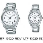 นาฬิกา คาสิโอ Casio SETคู่รัก รุ่น MTP-1302D-7B3V+LTP-1302D-7B3V ของแท้ รับประกัน 1 ปี
