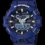 นาฬิกา คาสิโอ Casio G-Shock Standard ANALOG-DIGITAL รุ่น GA-700-2A (สีเนวี่บลู) ของแท้ รับประกัน 1 ปี