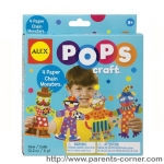 เซทงานประดิษฐ์ ALEX Toys POPS Craft 4 Paper Chain Monsters
